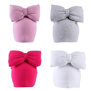 Children Baby Hat Infant Toddler Bow knot Hats Kids Winter Warm Caps