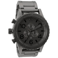 Nixon The 51-30 Chrono Watch Matte Black One Size For Men 19679618201