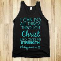 Strength Christ  Tank Top