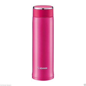 Zojirushi Stainless Steel Mug 480ml SM-LA48-PV Thermos Hot Coffee Water Bottle