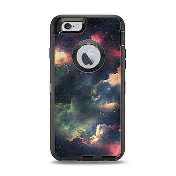 The Vintage Stormy Sky Apple iPhone 6 Otterbox Defender Case Skin Set
