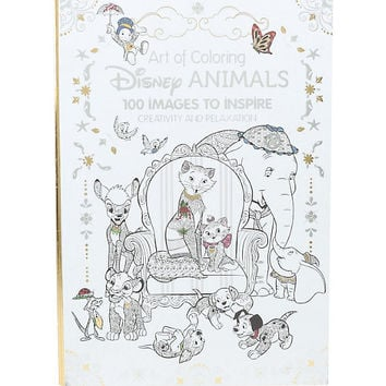 Disney Art Of Coloring: Disney Animals Coloring Book