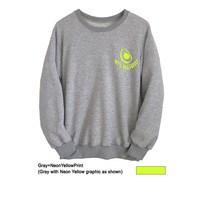 Avocado Shirt Teens Crewneck Sweatshirt for Women Men Unisex Outfits College Long Sleeve Shirt Heather Grey Jumper Lazy Fangirl Fashion Top