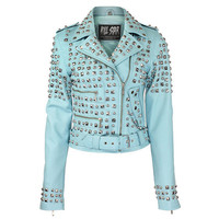 Studded Leather Jacket [BB] | KILLSTAR