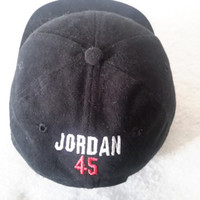 Vintage Sports Specialties #45 Jordan Back 4 More 90s Retro Dope Retirement 9 10 Bred