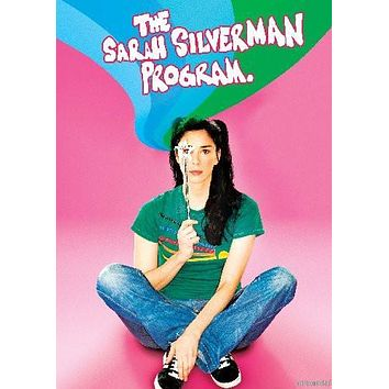 Sarah Silverman Program poster Metal Sign Wall Art 8in x 12in