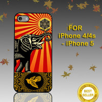 OBEY Elephant - Photo on Hard Cover - For iPhone Case ( Select An Option )