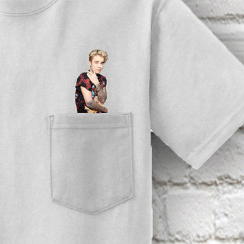Justin Bieber Pocket T-Shirt