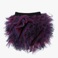 Purple Ball Tutu Skirt