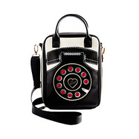 PHONE A FRIEND LUNCH TOTE: Betsey Johnson