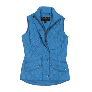 Flyweight Cavalry Quilted Gilet in Beachcomber by Barbour