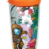 Aquarium - Wrap With Lid | 16oz Tumbler | Tervis®