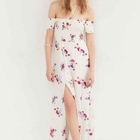 MINKPINK Falling Blooms Off-The-Shoulder Maxi Dress