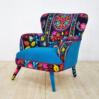 Suzani armchair - fall