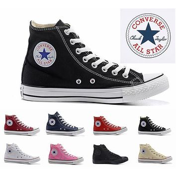 2017 Converse Chuck Tay Lor designer Canvas skateboard Shoes Mens Womens High Top Classic Converses Skate Casual Sneakers
