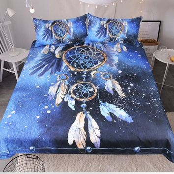 Dreamcatcher in Stars Bedding Set