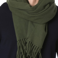 etudes fringed scarf green - Google Search