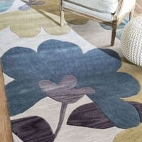 Rugs USA Amulet Floral TL01 Light Grey Rug
