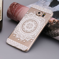Best Price Campanula Floral Dream Catcher Case Cover for Samsung Galaxy S7 edge