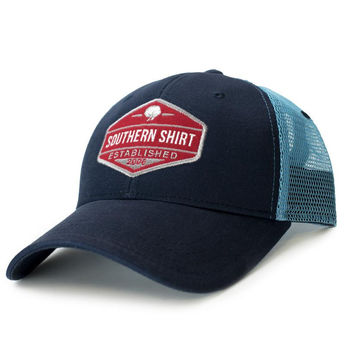 Trademark Badge Mesh Hat