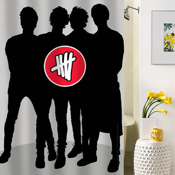 5 SOS shower curtain special custom shower curtains that will make your bathroom adorable