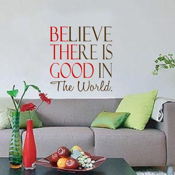 Be The Good Vinyl Wall Decal Home Decor