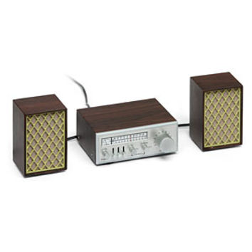 Mini Vintage Bluetooth® Stereo