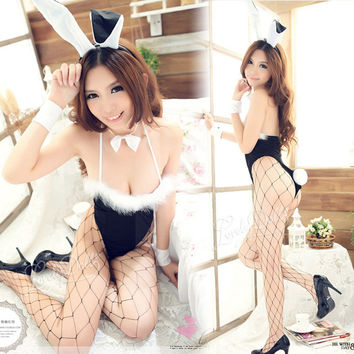 Hot Deal Cute On Sale Rabbit Set Uniform Sexy Underwear Exotic Lingerie [6595716291]
