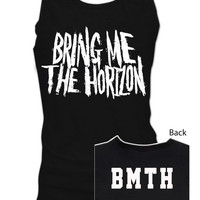 LOGO Bring Me the Horizon British Metalcore Oliver Sykes Retro Rise BMTH Tank Top Singlet men women S,M,L