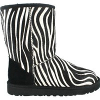 UGG Australia Classic Short Exotic Zebra Womens Boot Holiday (8)
