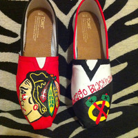 Chicago Blackhawks TOMS