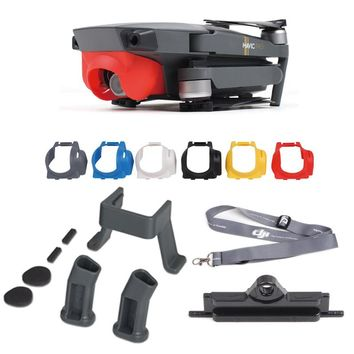 4in1 Accessories Combo for DJI Mavic Pro Foldable Quadcopter Drone Camera Sunshade Hood Cover + Neck Strap Holder + Landing Gear