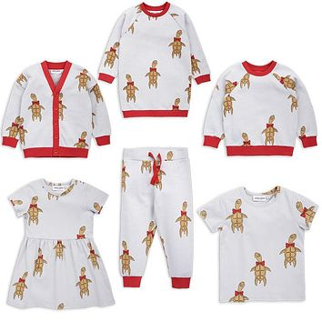 Baby Clothing 2018 Spring New Boys Clothes Sets Toddler Kids Turtle Printed Sweatshirt Coats Pants Girls Dress Summer T-shirts