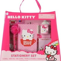 Sanrio Hello Kitty Stationery Set, Journal, Note Pad, Pencil and Many More, for ages 6 +:Amazon:Toys & Games