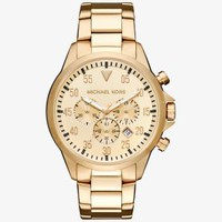 Gage Gold-Tone Watch | Michael Kors