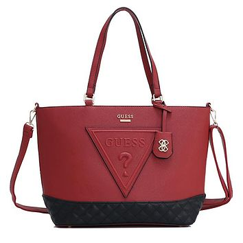 GUESS Women Fashion Leather Crossbody Handbag Satchel