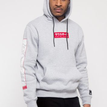 Applique Wave Patch Hoodie