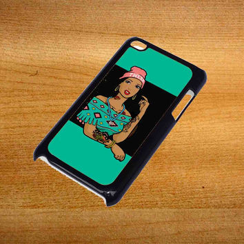 Pocahontas Hipster For iPod Touch 4 Case *76*