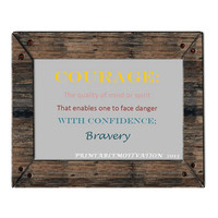Courage Printable Art - Home Fall Decorations - Fall Decor
