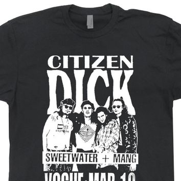 Citizen Dick T Shirt Pearl Jam T Shirt Nirvana T Shirt Vintage Band Tee
