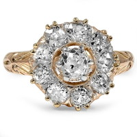 18K Yellow Gold The Leigh Ring