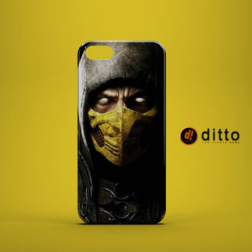 SCORPION MORTAL KOMBAT Design Custom Case by ditto! for iPhone 6 6 Plus iPhone 5 5s 5c iPhone 4 4s Samsung Galaxy s3 s4 & s5 and Note 2 3 4