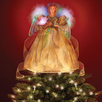 The Fiber Optic Angel Tree Topper