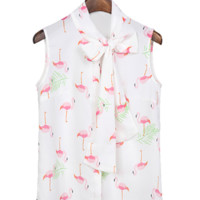 The Flamingo Blouse