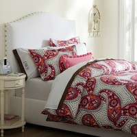 Retro Paisley Duvet Cover + Pillowcases