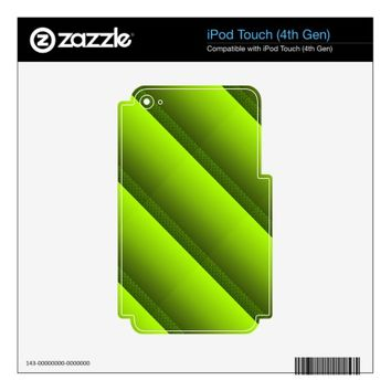 Green Foliage iPod Touch 4G Decal