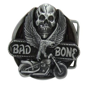 Eagle Skull motorcycle belt buckles metal