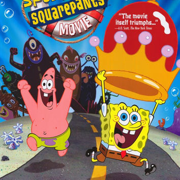 SpongeBob SquarePants Movie 11x17 Movie Poster (2004)