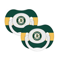 Oakland Athletics 2pk Baby Pacifier