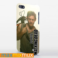 Walking Dead Tv Series Daryl iPhone 4/4S, 5/5S, 5C Series Full Wrap Case